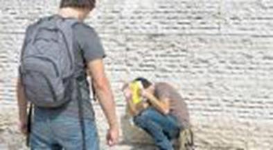 Violencia escolar-pelea entre alumnos a la salida del ex-normal 2