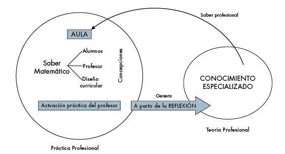 Desarrollo profesional del profesor de matemáticas