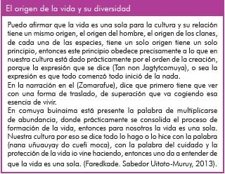 El origen de la vida y su diversidad según sabedor uitoto-muruy.