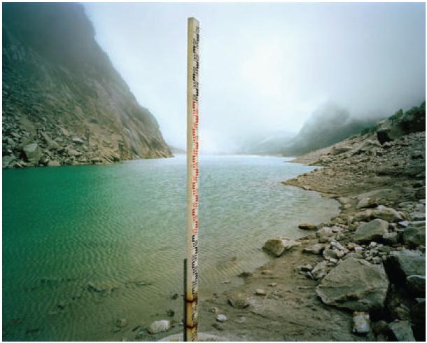 History of the future, Lago Parón, Perú