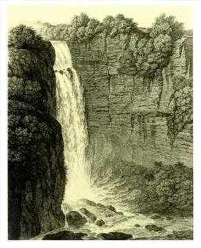 Salto del Tequendama, Cundinamarca, Colombia (1803).