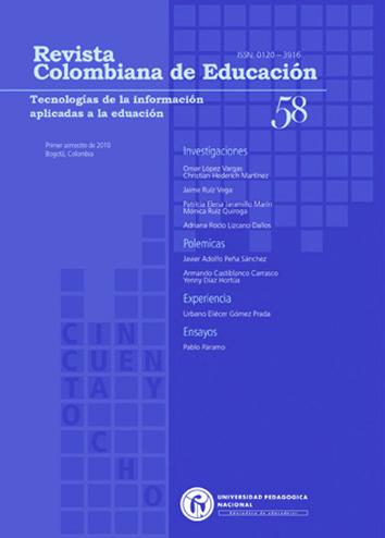 Ver Núm. 58 (2010): Tecnologías de la información aplicadas a la educación (ene-jun)