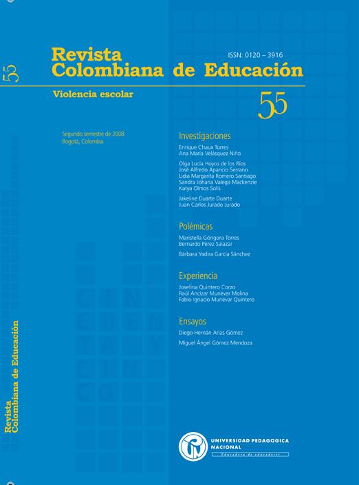 Ver Núm. 55 (2008): Violencia Escolar (jul-dic)