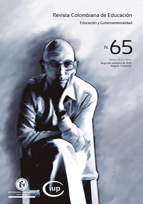 Ver Núm. 65 (2013): Educación y Gubernamentalidad (jul-dic)