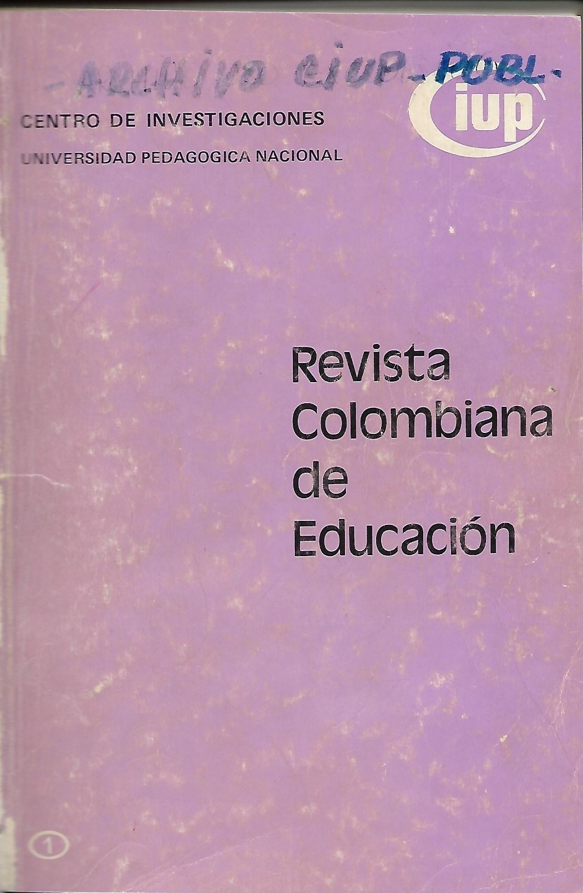 Ver Núm. 1 (1978): 1978