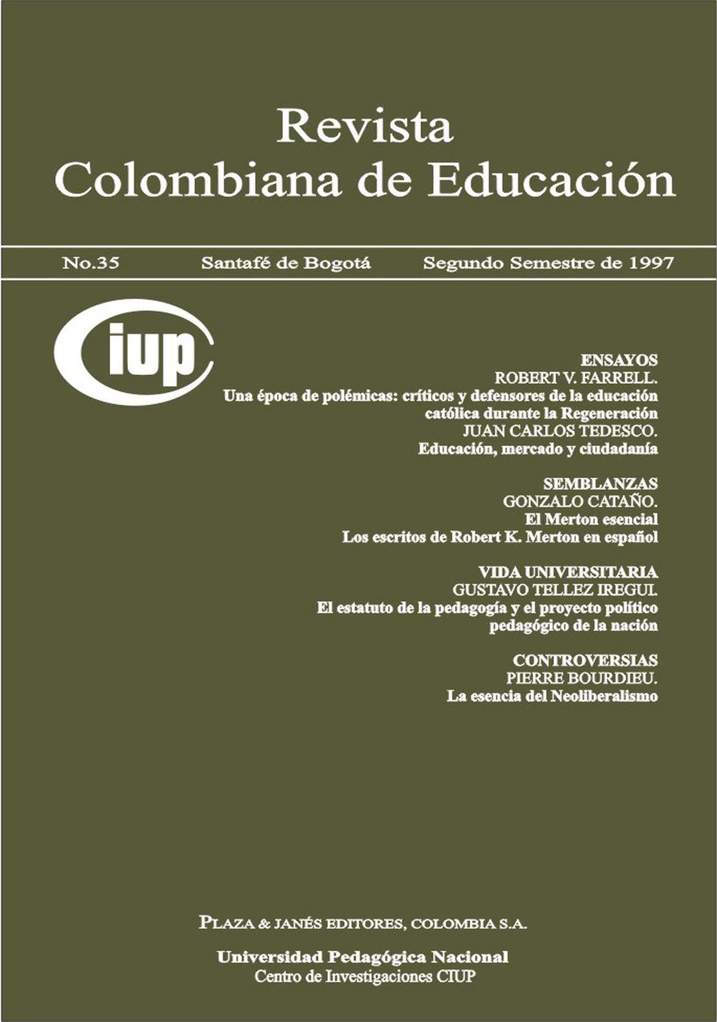 Ver Núm. 35 (1997): 1997