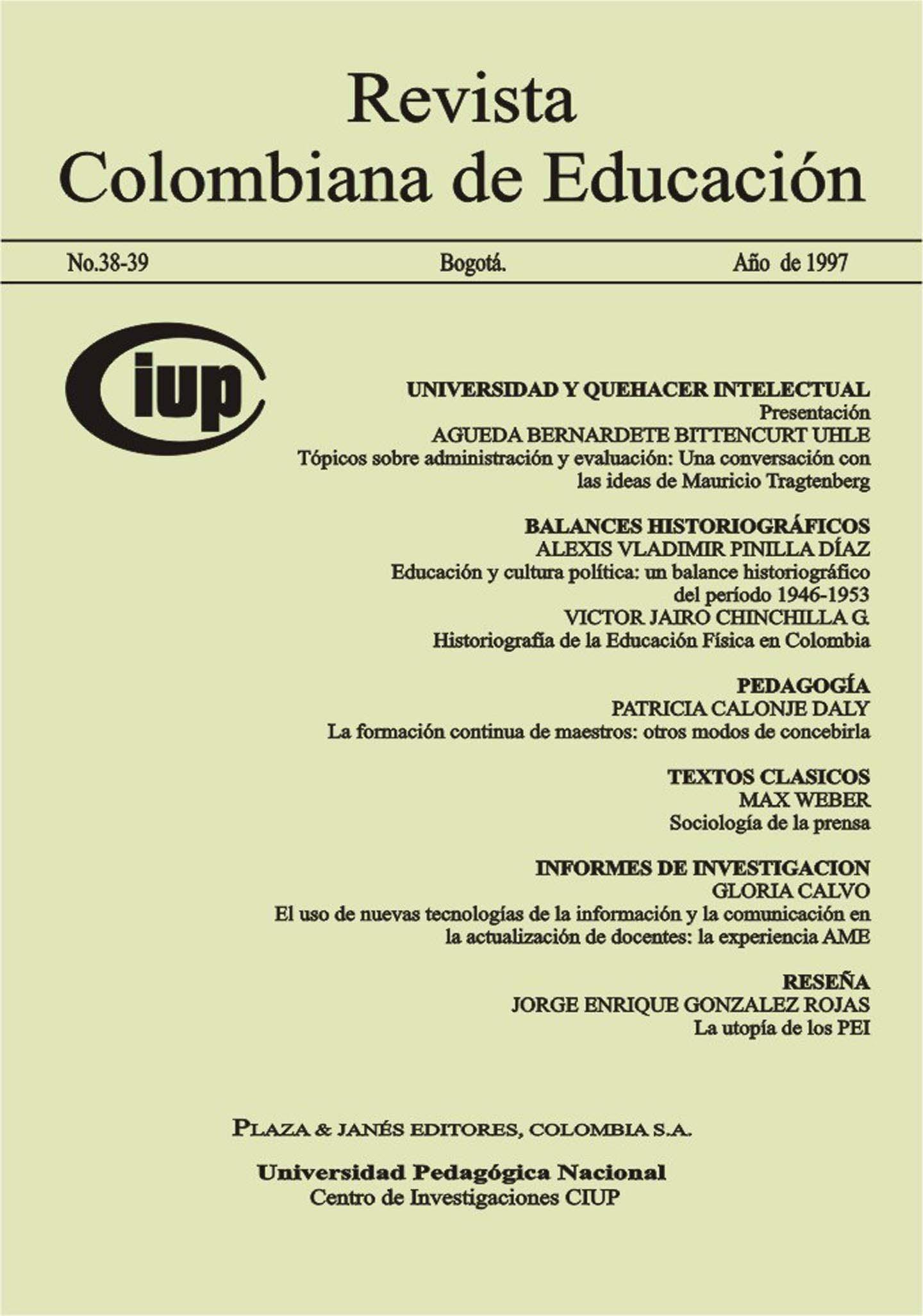 Ver Núm. 38-39 (1999): 1999