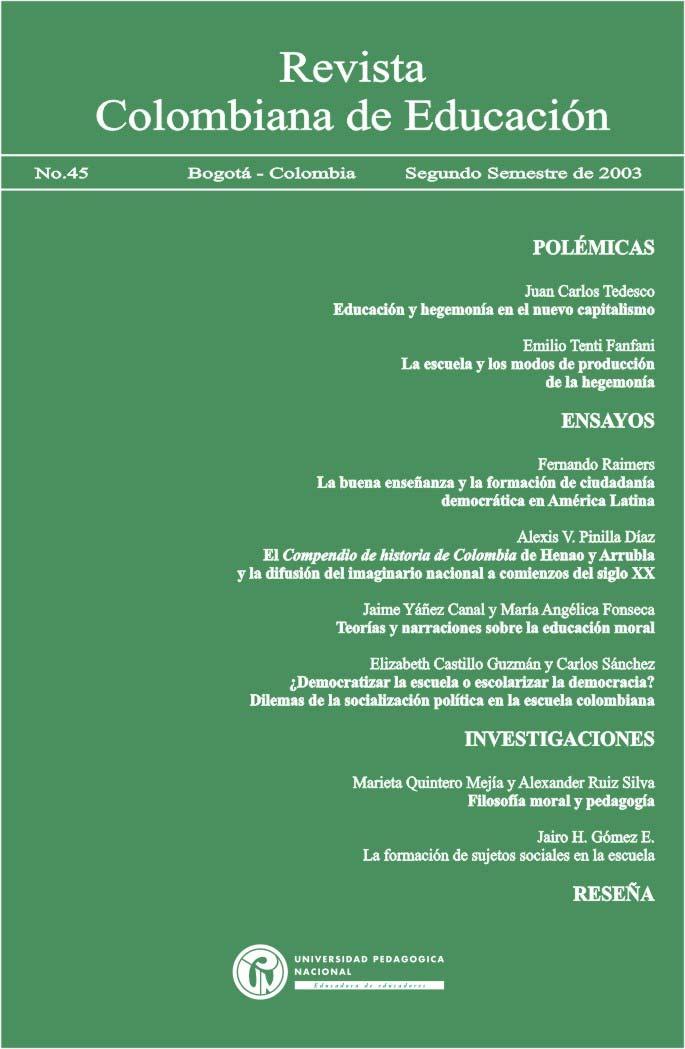 Ver Núm. 45 (2003): 2003