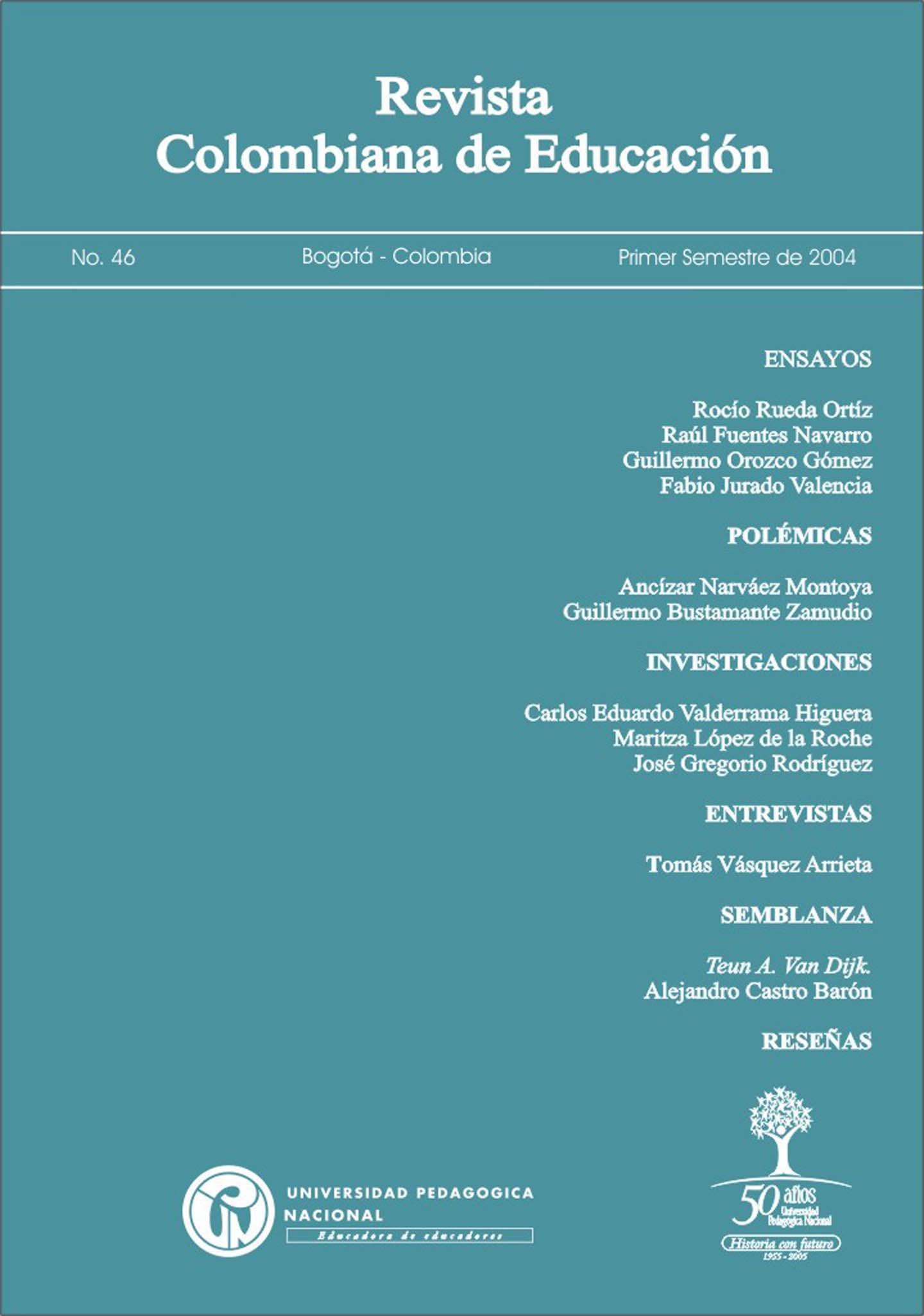 Ver Núm. 46 (2004): 2004