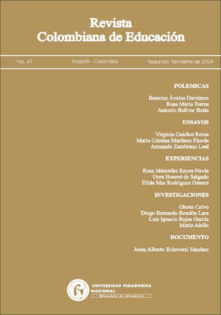 Ver Núm. 47 (2004): 2004