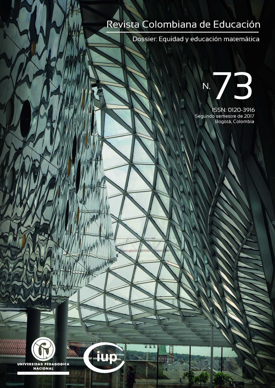 Ver Núm. 73 (2017): Dossier: Equidad y educación matemática, parte 1 (jul-dic)