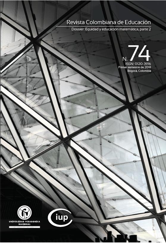 Ver Núm. 74 (2018): (ene-jun) Dossier: Equidad y educación matemática, parte 2