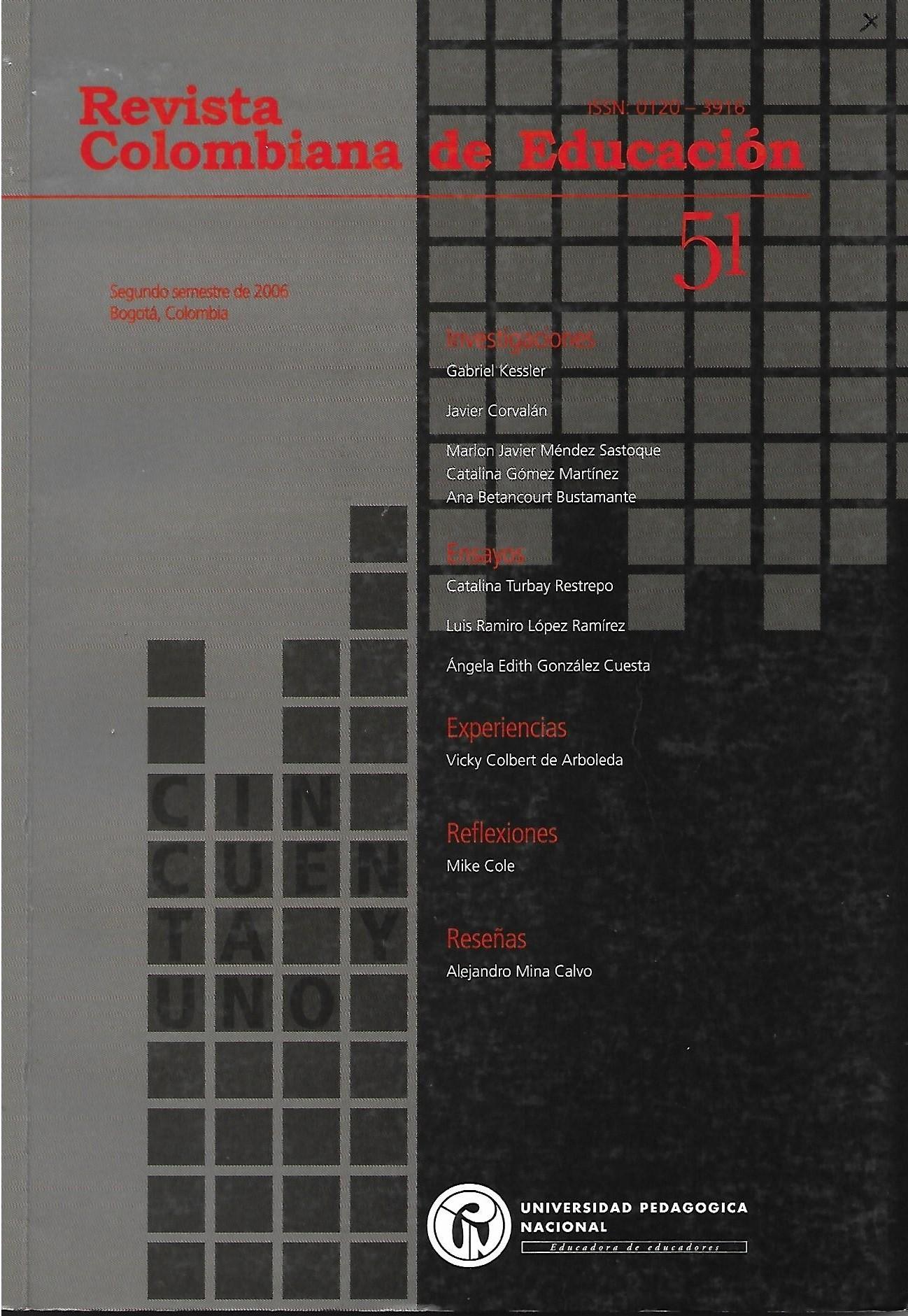 Ver Núm. 51 (2006): 2006