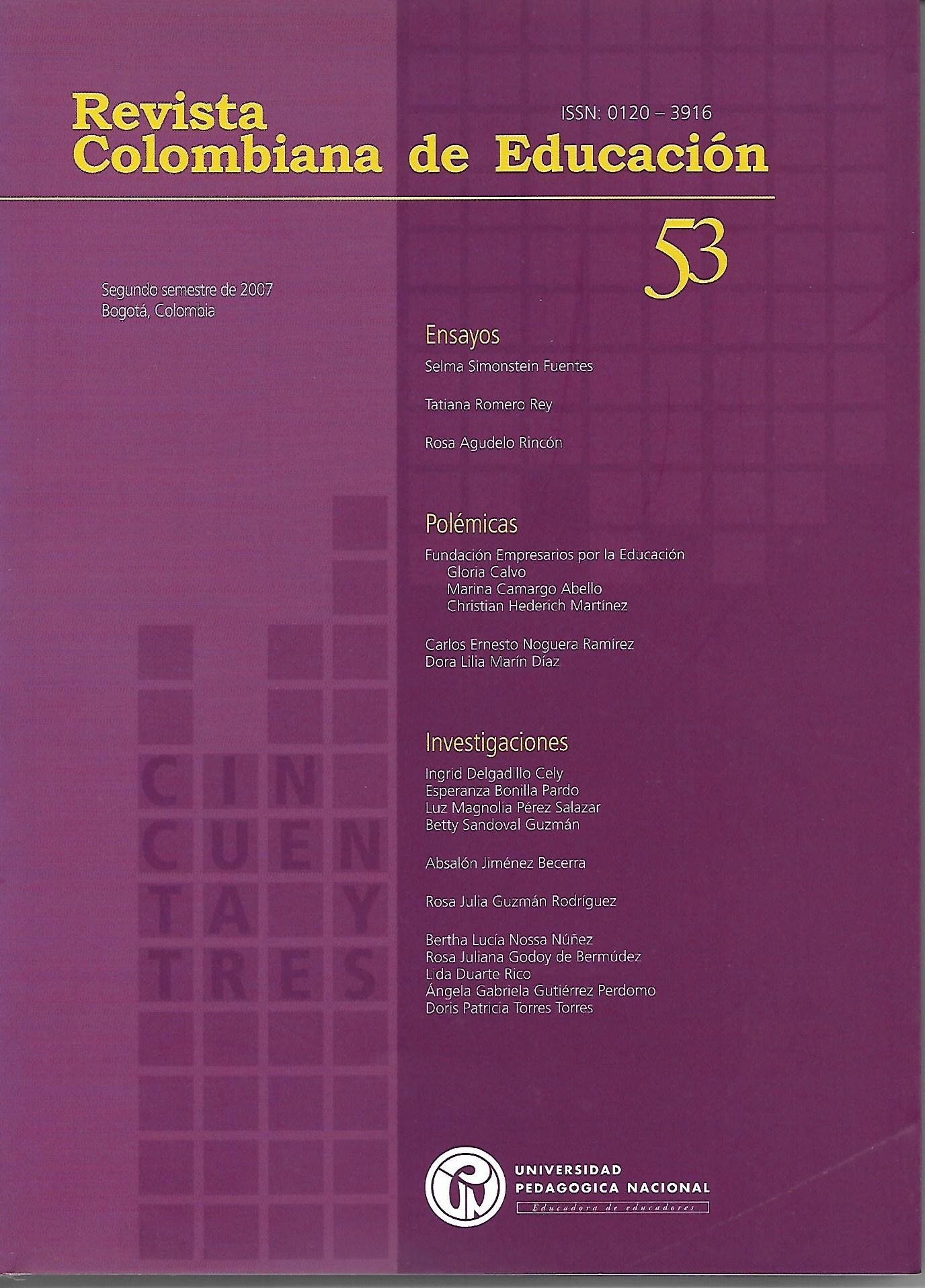 Ver Núm. 53 (2007): 2007