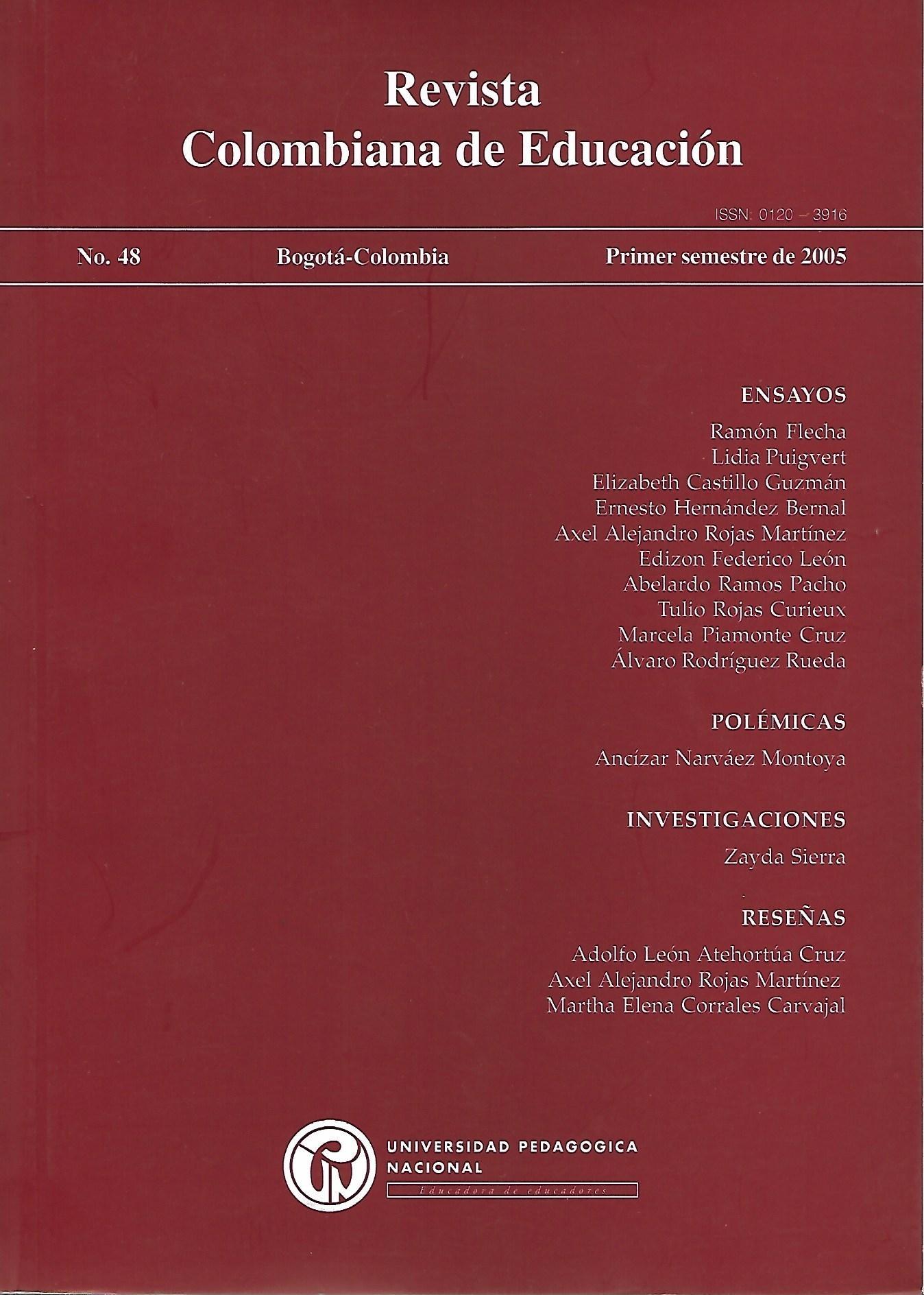 Ver Núm. 48 (2005): 2005