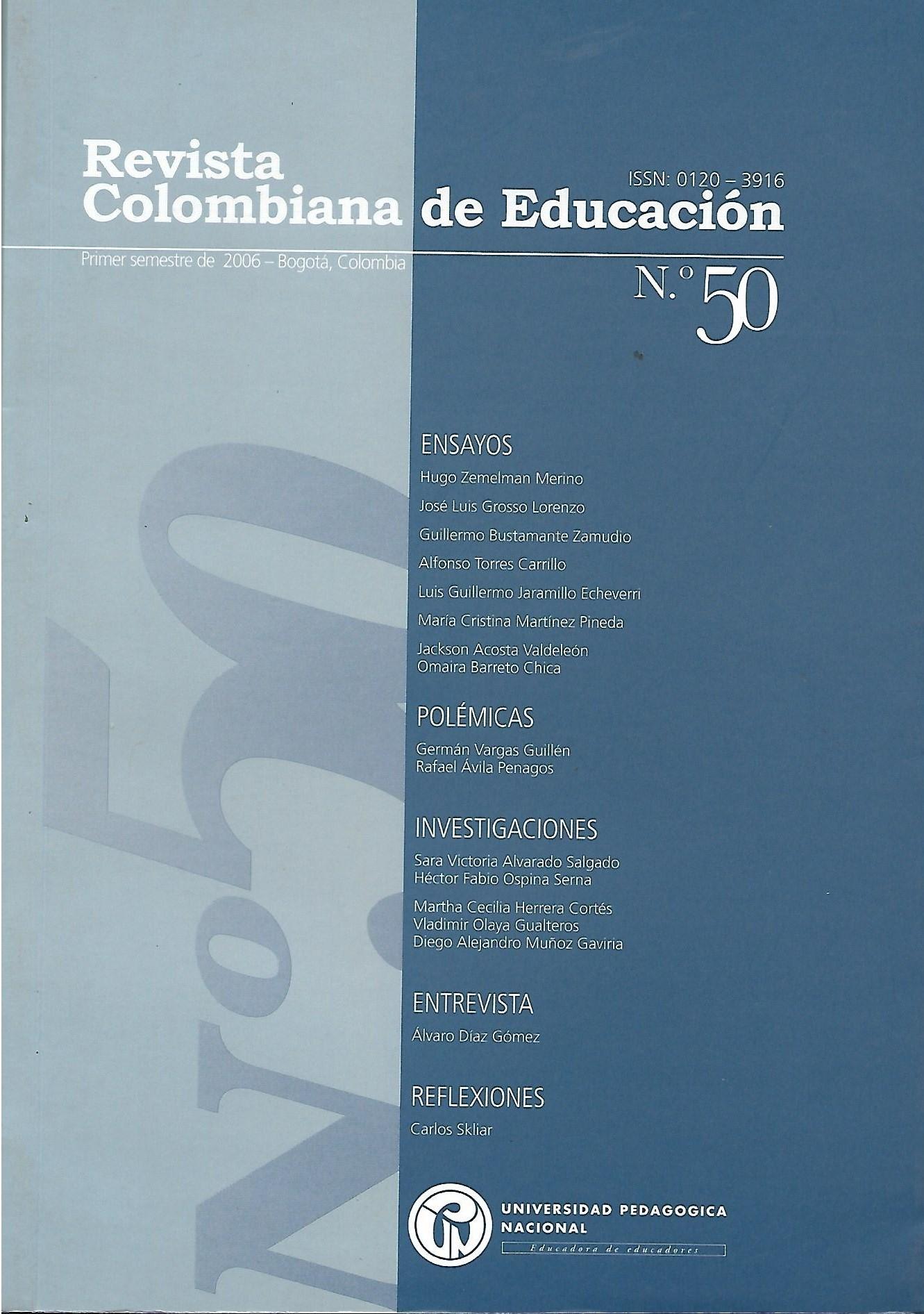 Ver Núm. 50 (2006): 2006