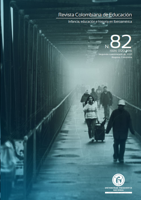 Ver Vol. 1 Núm. 82 (2021): Dossier: Infancia, educación e historia en Iberoamérica