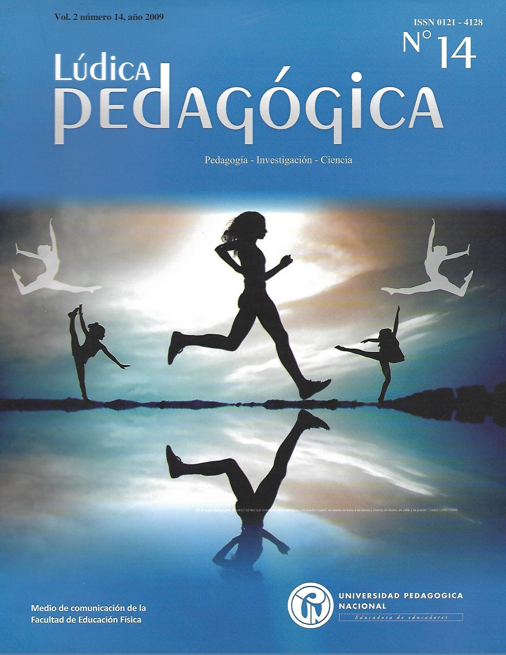 Ver Vol. 2 Núm. 14 (2009): Lúdica Pedagógica (jul-dic)