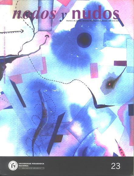 Ver Vol. 3 Núm. 23 (2007): jul-dic