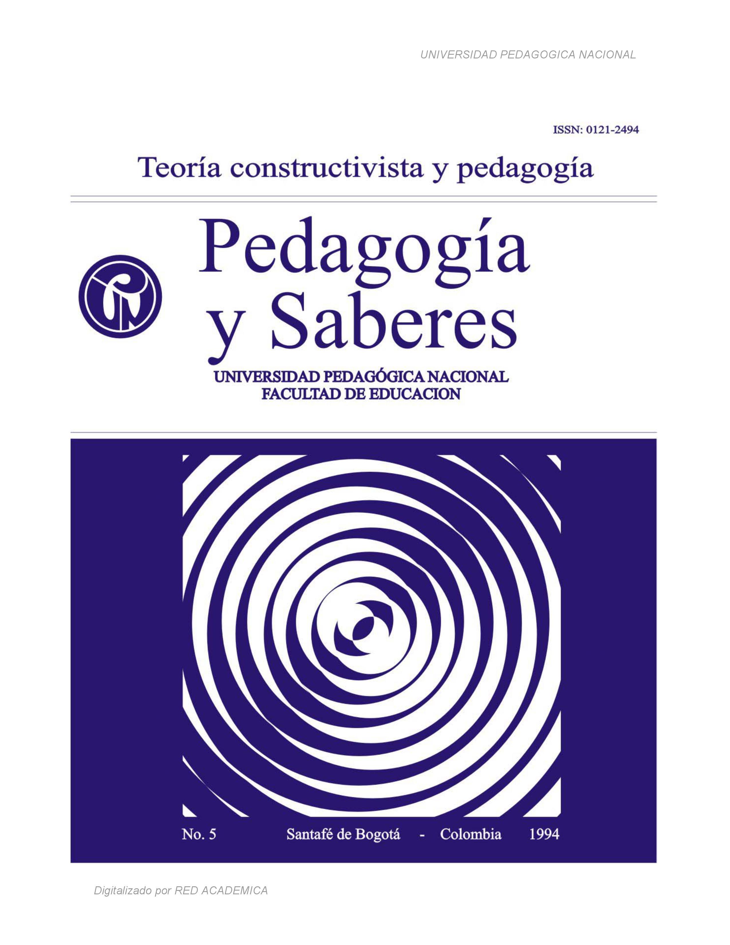 Teoría constructivista y pedagogía