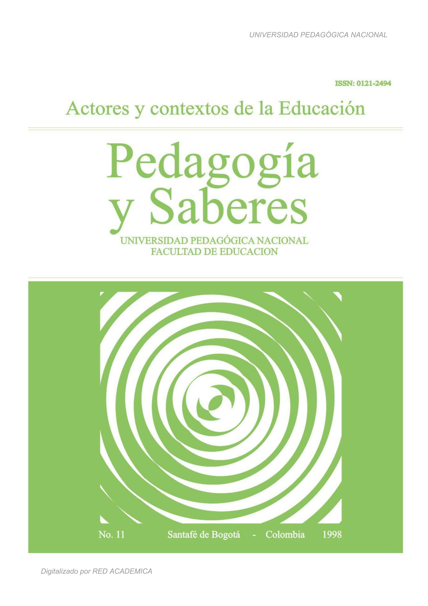 Actores y contextos de la Educación