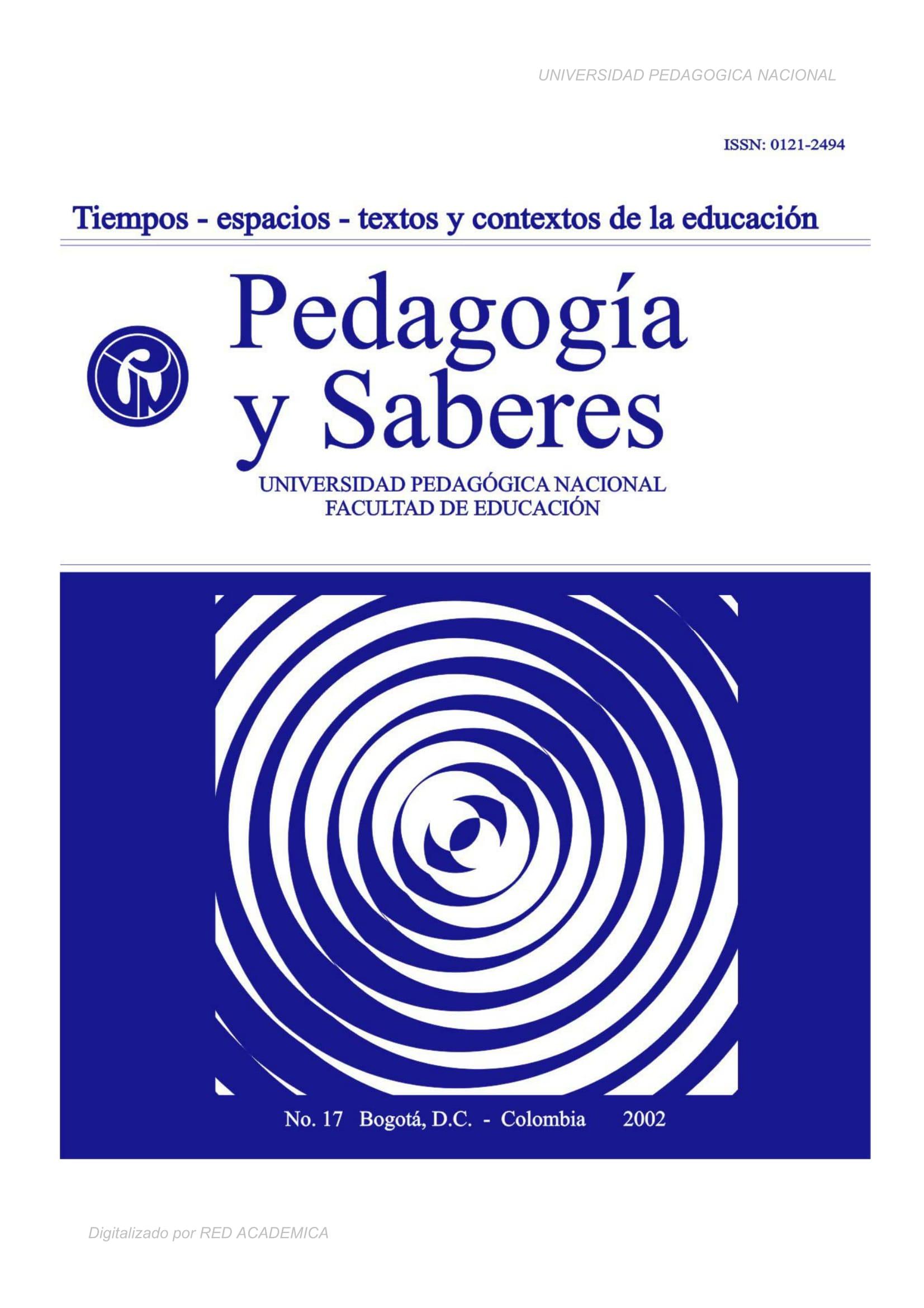 Tiempos, espacios, texto y contextos de la Educación