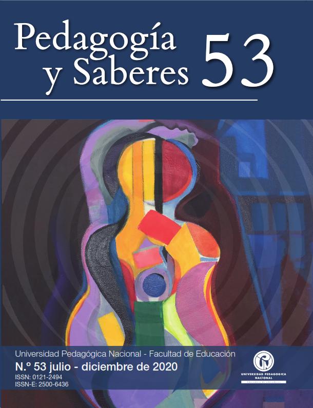 Pedagogía y saberes No. 45 ISSN 0121-2494;  ISSN-E 2500-6436