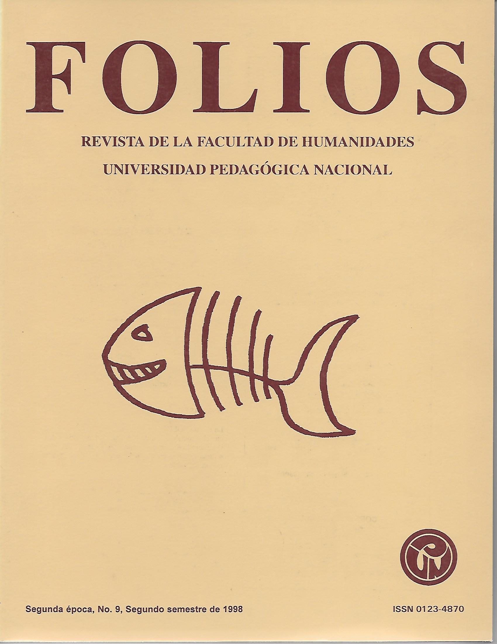 Ver Núm. 9 (1998): jul-dic