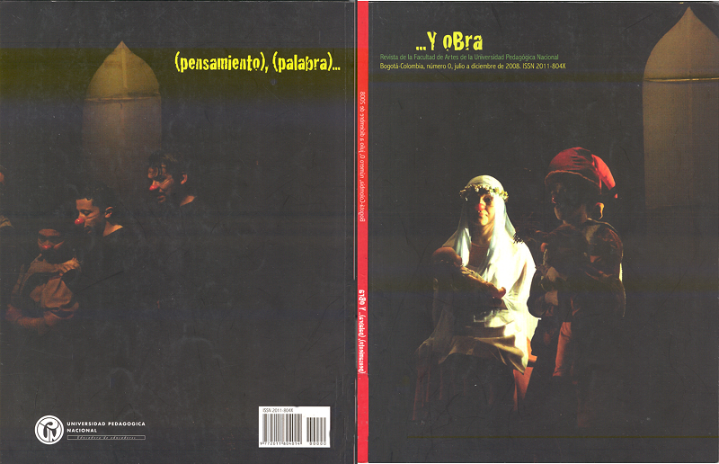 Ver Núm. 1 (2008): jul-dic