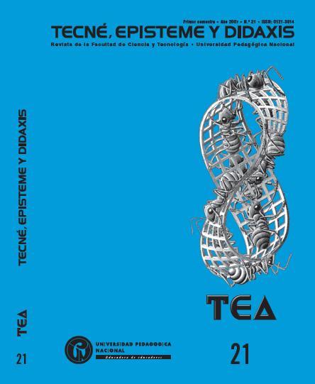 Ver Núm. 21 (2007): Enseñanza de las ciencias y pensamiento cientifíco para una nueva cultura docente. (ene-jun)